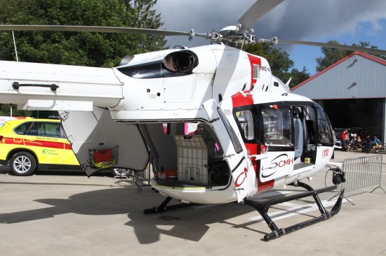EC 145 im static display